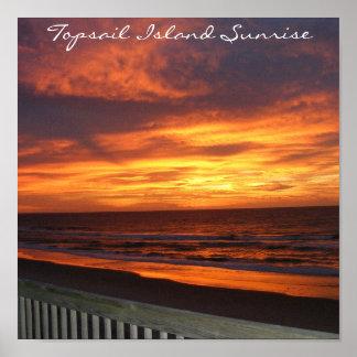 Topsail Island Sunrise Print