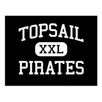 Topsail - Pirates - High - Hampstead Postcard