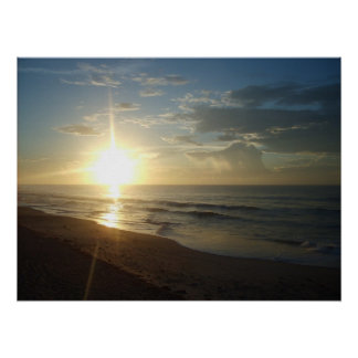 Topsail sunrise poster