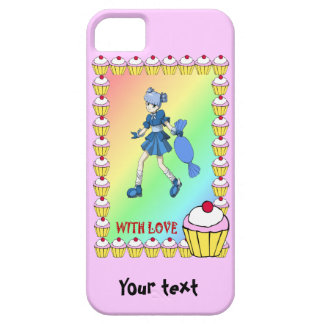 Topsy toffee and cupcakes iPhone SE/5/5s case