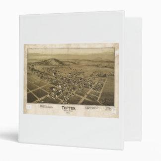 Topton Berks County Pennsylvania Map (1893) Binder