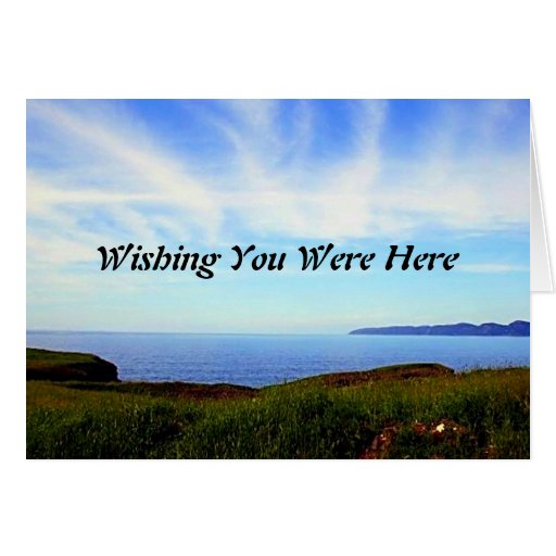Toque el cielo tarjeta de felicitación