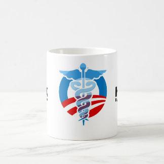 Toque la bocina si usted apoya atención sanitaria taza