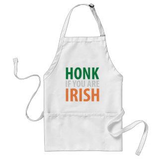toque la bocina si usted es irlandés delantal