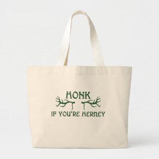 toque la bocina si usted es verde del herney bolsas