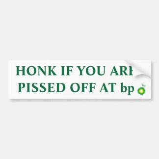 Toque la bocina si usted pissed apagado en la pega pegatina para auto