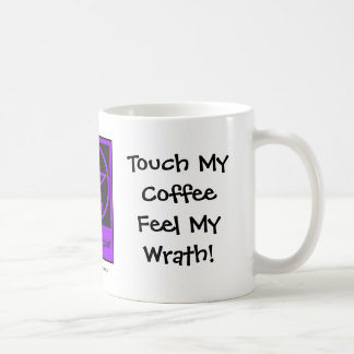 ¡Toque mi sensación del café mi cólera! taza de lo