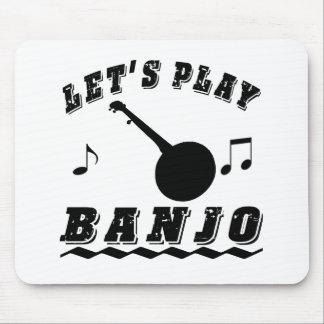 Toquemos el banjo tapetes de ratones