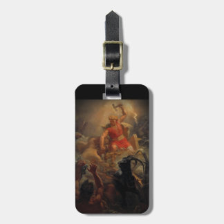 Tor Battling the Giants Luggage Tag