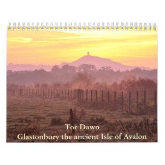 Tor Dawn Glastonbury the ancient Isle of ... Calendar
