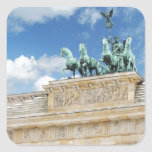 Tor de Brandeburgo en Berlín, Alemania Colcomanias Cuadradass