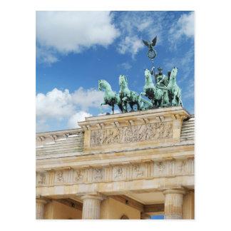 Tor de Brandeburgo en Berlín, Alemania Tarjetas Postales