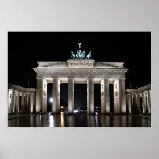 Tor de Brandenburger de la puerta de Brandeburgo Impresiones