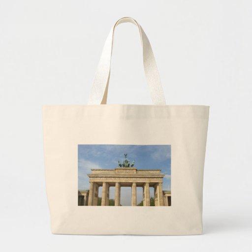 Tor de Brandenburger (puerta de Brandeburgo) Bolsa Tela Grande