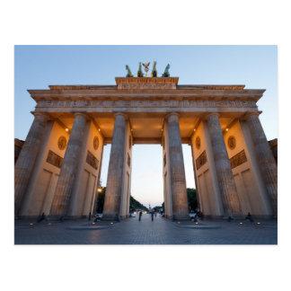 Tor de Brandenburger Tarjeta Postal