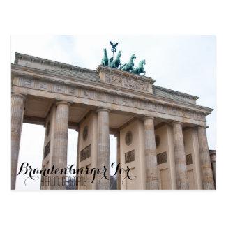 Tor de Brandernburger Tarjeta Postal