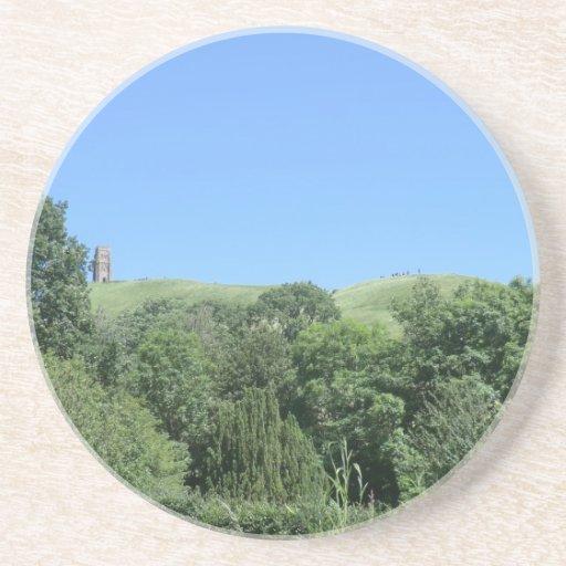 Tor de Glastonbury del pozo y de jardines de la cá Posavaso Para Bebida