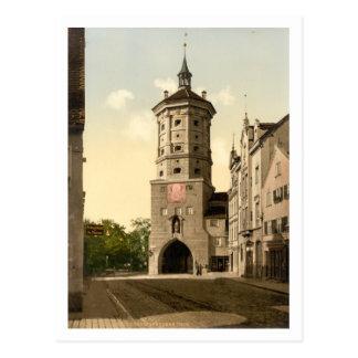 Tor de Wertachbrucker, Augsburg, Baviera, Alemania Tarjetas Postales