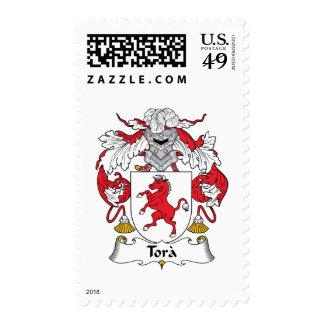 Tora Family Crest Stamp