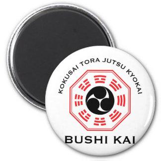 Tora Jutsu - Bushi Kai 2 Inch Round Magnet