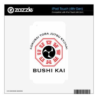 Tora Jutsu - Bushi Kai Decal For iPod Touch 4G
