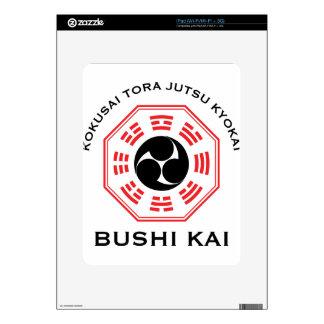 Tora Jutsu - Bushi Kai Skin For iPad
