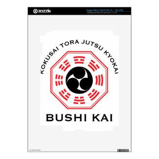 Tora Jutsu - Bushi Kai Decals For iPad 3