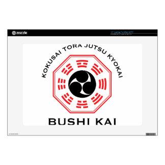 """Tora Jutsu - Bushi Kai Decal For 15"""" Laptop"""
