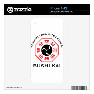 Tora Jutsu - Bushi Kai Decals For The iPhone 4S