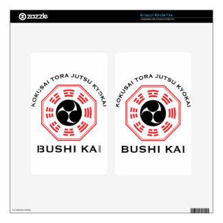 Tora Jutsu - Bushi Kai Decals For Kindle Fire
