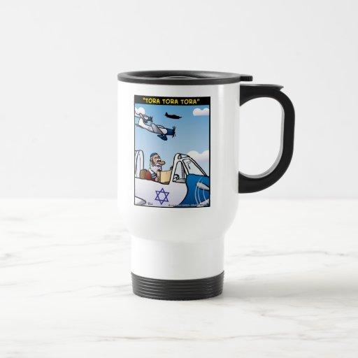 """Tora! Tora! Tora!"" 15 Oz Stainless Steel Travel Mug"