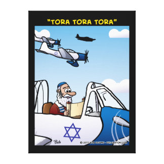 """Tora! Tora! Tora!"" Stretched Canvas Prints"