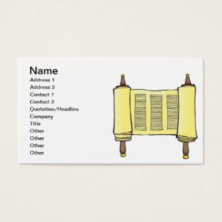 Torah Business Card
