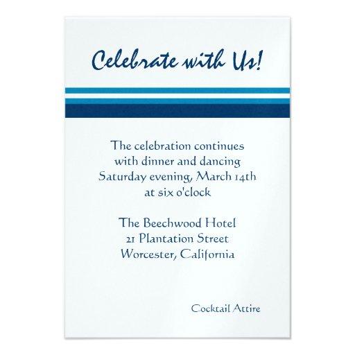 Torah Classic ICE Reception Card Announcements