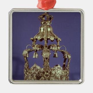 Torah Crown Metal Ornament