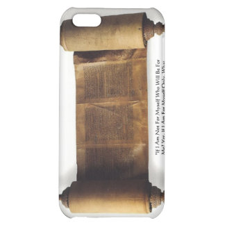 "Torah ""If Not For Myself"" Wisdom Quote Gifts & Tee Case For iPhone 5C"