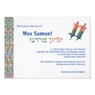 """Torah máximo invita - a 3399 invitación 5"""" x 7"""""""
