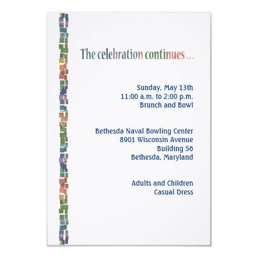 Torah máximo Reception3 Invitación 8,9 X 12,7 Cm