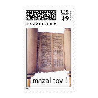 Torah mazal tov stamps
