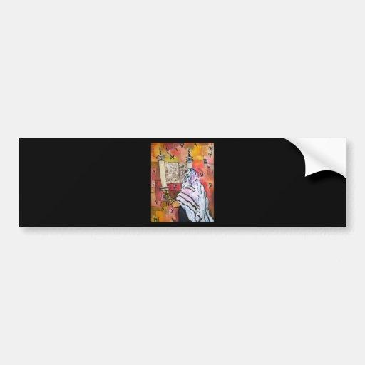 Torah Reading Car Bumper Sticker