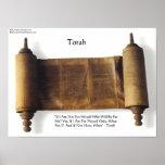 """Torah """"si no para mí mismo"""" poster de la cita de"""