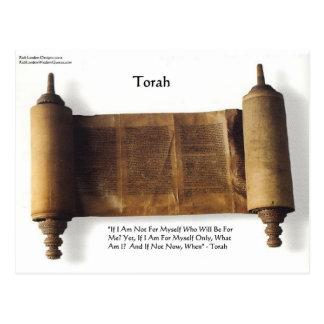 """Torah """"si no para mí mismo"""" regalos y camiseta de  postales"""