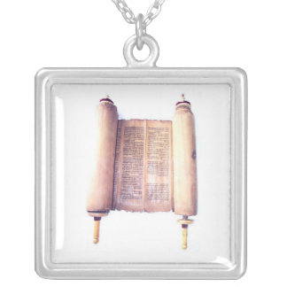 TORAH SILVER PLATED NECKLACE