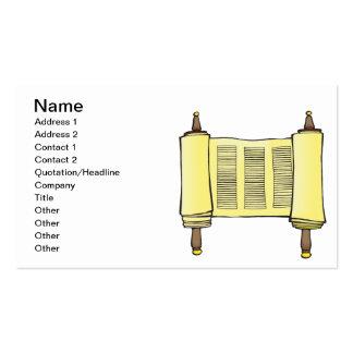 Torah Tarjetas De Visita