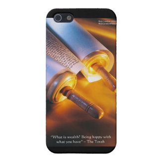 Torah Wisdom (Wealth/Happiness) Gifts, Mugs Etc Cover For iPhone 5