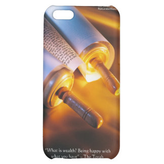 Torah Wisdom (Wealth/Happiness) Gifts, Mugs Etc iPhone 5C Cases