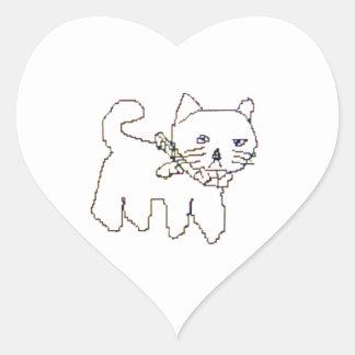 Torazou Heart Sticker