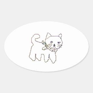 Torazou Oval Sticker