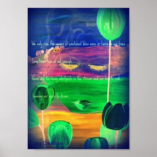 """""""Torbellinos del amor """" Posters"""