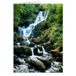Torc Falls Killarney Ireland Card